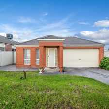 Rental info for Charming Craigieburn Creation in the Melbourne area