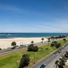 Rental info for **UNDER APPLICATION** in the St Kilda West area