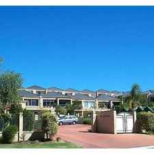 Rental info for CLOSE TO GOLF COURSE in the Perth area