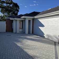Rental info for PRICE REDUCED! in the Perth area