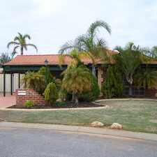 Rental info for NEAT AS A PIN-GREAT LOCATION in the Currambine area