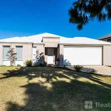 Rental info for LARGE FAMILY HOME IN QUIET STREET! TWO WEEKS RENT FREE in the Wannanup area