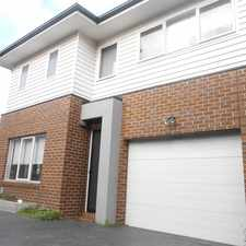 Rental info for MODERN RESIDENCE IN A GREAT LOCATION in the Melbourne area