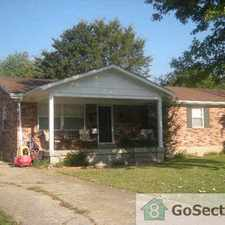 Rental info for Newly remodled 4 Bedroom Home in Treasure Island (Louisville, KY 40229)