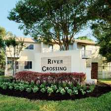Rental info for 1845 River Crossing Cir in the Austin area