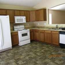 Rental info for House With Great Yard And Fresh Custom Paint.
