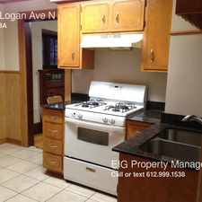 Rental info for 3407 Logan Ave N in the Folwell area