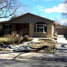 Rental info for Three bed two bath home available in South Boulder