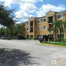 Rental info for $1600 2 bedroom Apartment in Pembroke Pines in the Pembroke Pines area