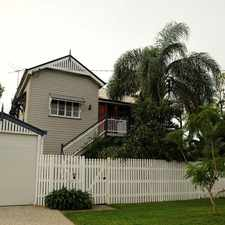 Rental info for TRADITIONAL STYLE AND CHARM in the Brisbane area
