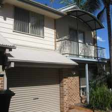 Rental info for Modern townhouse in perfect location in the Brisbane area