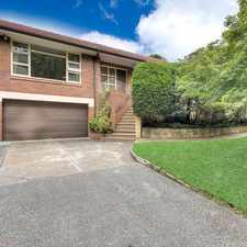 Rental info for Comfortable family home, pet-friendly with safe garden, minutes to Pymble Station in the St Ives area