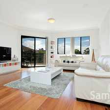 Rental info for STUNNING TOP FLOOR NORTH FACING LUXURY APARTMENT in the Caringbah area