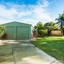 Rental info for FAMILY HOME WITH HUGE POWERED WORKSHOP in the Perth area