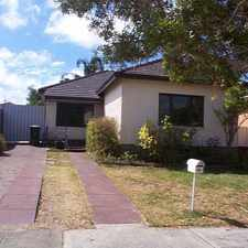 Rental info for LOVELY CHARACTER HOME IN GREAT LOCATION! in the Perth area