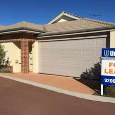 Rental info for $330 a week!! 3 x 2 with communal pool - very wel in the Perth area
