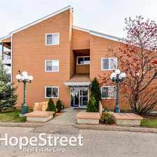 Rental info for 4601 131 Avenue NW - 2 Bedroom Apartment for Rent in the Sifton Park area