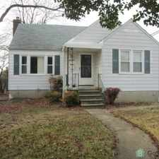 Rental info for Lovely Single Family Home with Fin base Central Air, LARGE front /backyard, Hardw floors New Carpet, Dishwasher, Driveway. Sep dining room off Kitchen, Wash/ Dryer Xtra Storage room area in Basement. in the North Harford Road area