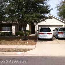 Rental info for 1307 Spotted Fawn Cove in the Cedar Park area