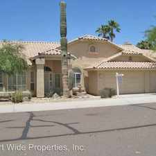 Rental info for 17848 W. CACTUS FLOWER DR