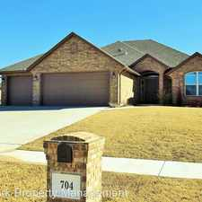 Rental info for 704 S Avery Drive in the 73160 area
