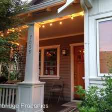 Rental info for 7055 SE Clinton St. in the South Tabor area