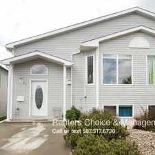 Rental info for 41 St James Place N in the Lethbridge area