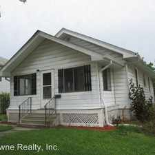 Rental info for 1722 Sinclair St