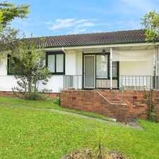 Rental info for Family home in great location in the Wollongong area