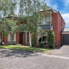 Rental info for Tidy Townhouse Quiet Location in the Adelaide area
