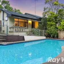 Rental info for 'Roxborough Park Estate' in the Sydney area
