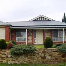 Rental info for Stylish Courtyard Home in the Mount Barker area