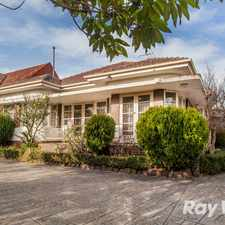 Rental info for Opportunity to Live in Premium Balwyn North