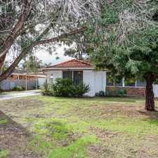Rental info for ***LOCATION*** in the Kelmscott area
