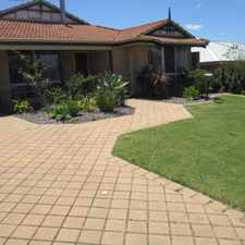 Rental info for SELL THE CAR - WALK TO EVERYTHNG ! in the Mindarie area