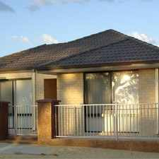 """Rental info for """" A CUT ABOVE THE REST """" in the Banksia Grove area"""