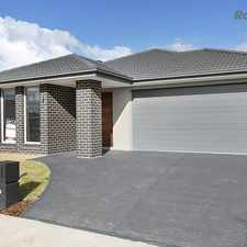 Rental info for Brand New Family Home in the Point Cook area