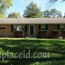 Rental info for 9805 Marsh Ave in the Robandee South area