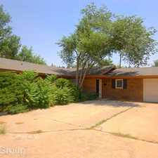 Rental info for 3705 30th Street - B in the Lubbock area
