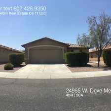 Rental info for 24995 W. Dove Mesa Dr.