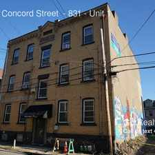 Rental info for 833-831 Concord Street - 831 in the East Allegheny area