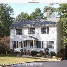 Rental info for 8259 Siege Road in the Mechanicsville area