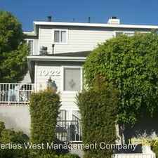 Rental info for 1022 W. 18th St. - 3