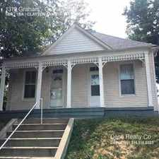 Rental info for 1319 Graham in the Clayton-Tamm area