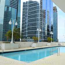 Rental info for 1200 Brickell Bay Drive Apt# 3605
