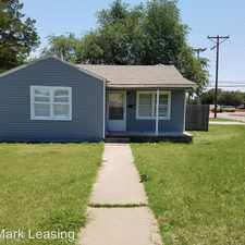 Rental info for 3617 33rd Street in the Lubbock area