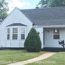 Rental info for 25895 Annapolis St in the Dearborn Heights area