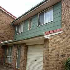 Rental info for Location is the Word for this Townhouse in the Moggill area