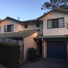 Rental info for Neat & Tidy Low Maintence Townhouse in the Carseldine area