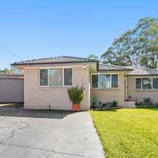 Rental info for POSITIONED PERFECTLY in the Bonnyrigg area